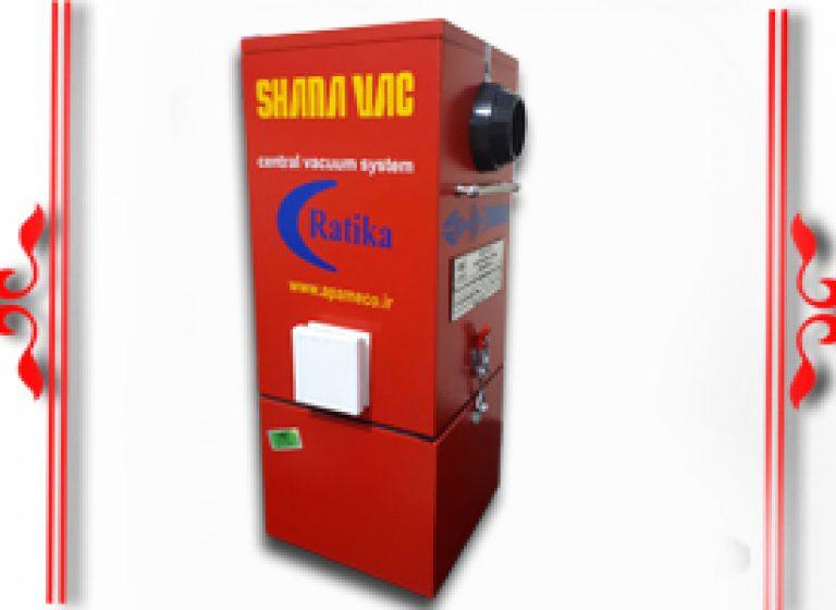 جاروی مرکزی مکعبی مدل SHANA VAC